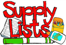 Supply List 2018-2019